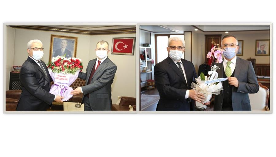 Bölge Müdürümüz 26 Ocak Dünya Gümrük Günü Kapsamında Rize ve Artvin İllerinde Ziyaretler Gerçekleştirdi.