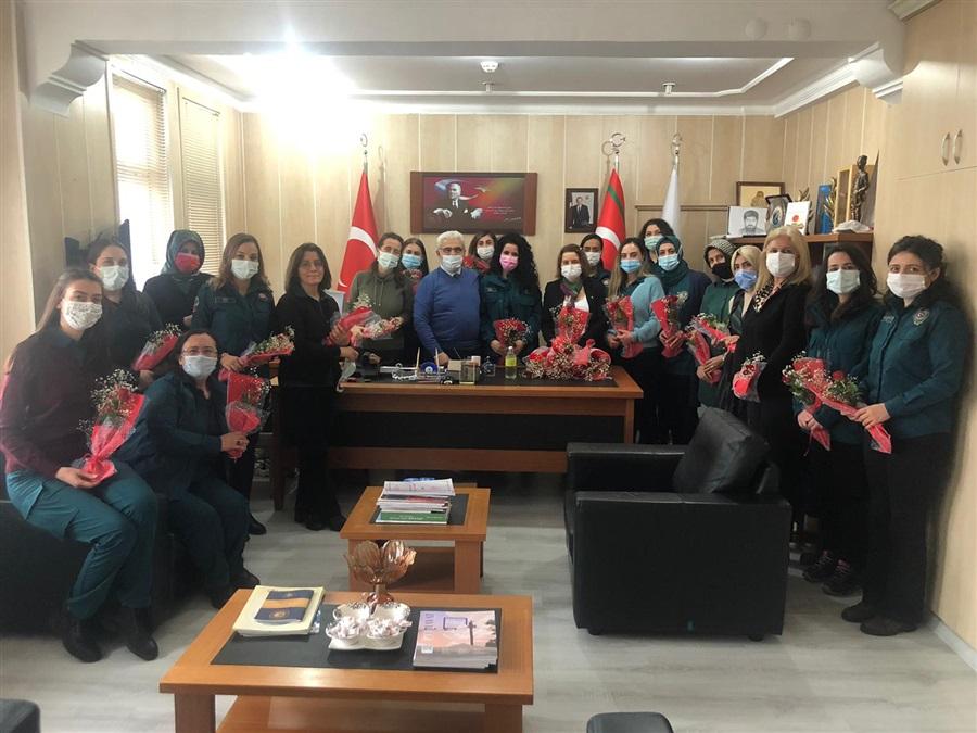 Bölge Müdürümüz Sn. Recep BİLGİN Personelinin 14 Şubat Sevgililer Gününü Kutladı