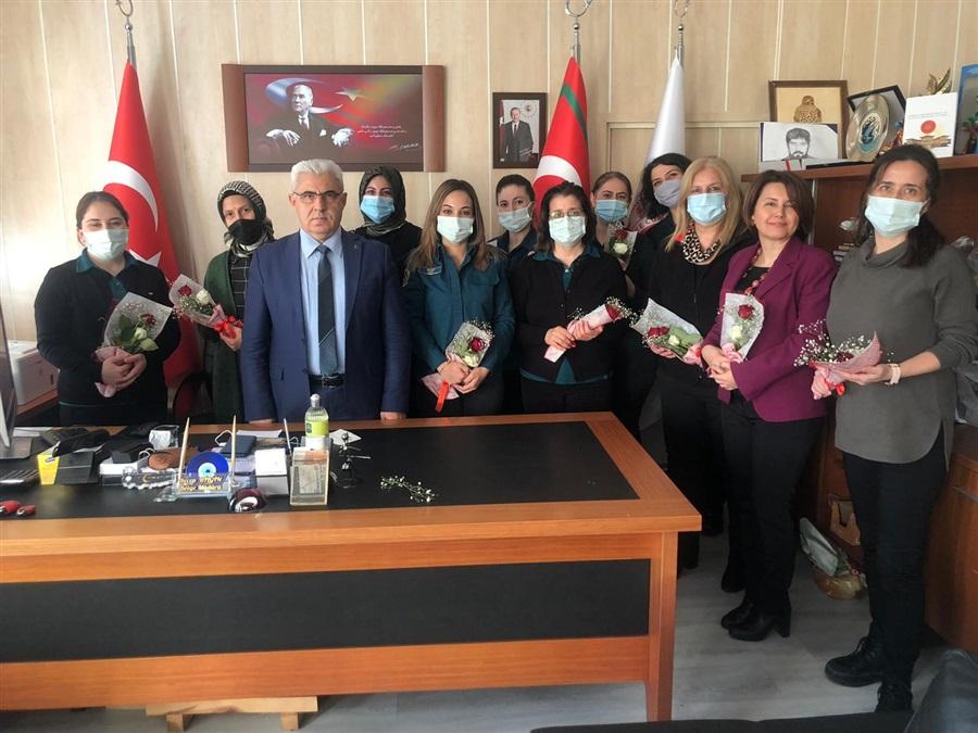 Bölge Müdürlüğümüzde 8 Mart Dünya Kadınlar Günü Kutlandı