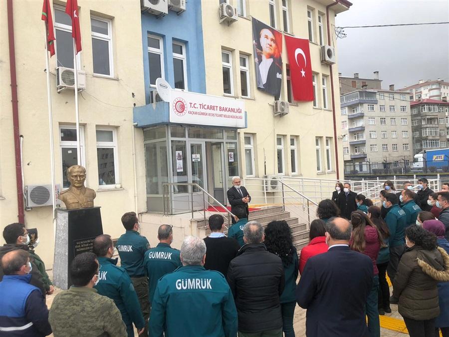 Bölge Müdürlüğümüzde 18 Mart Çanakkale Zaferi ve Şehitleri Anma Töreni Yapıldı