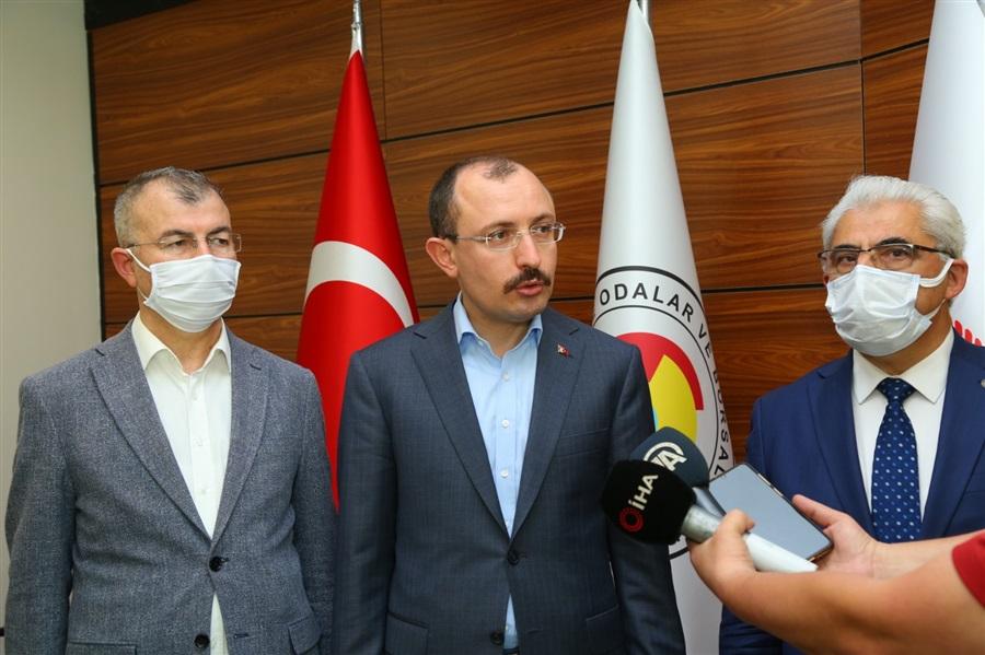 Ticaret Bakanımız Sn. Dr.Mehmet MUŞ, Sarp Sınır Kapısı'nda İncelemelerde Bulundu