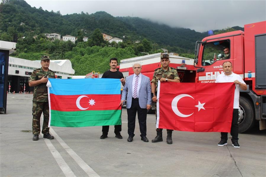 Azerbaycanlı Kardeşlerimizi Bölge Müdürümüz Sn. Recep BİLGİN Uğurladı